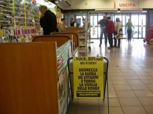la voce di rabbia al supermercato