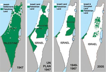 La Palestina dal 1946 al 2005