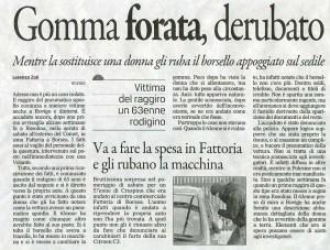 gomma forata gazzettino 5-1-2015